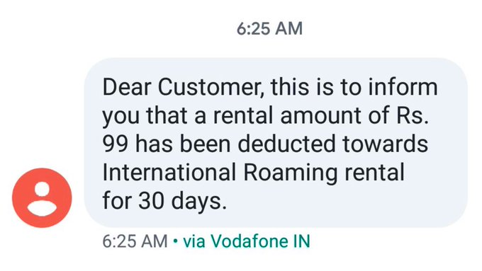 Vodafone Idea deducted