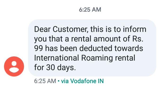 Vodafone Idea deducted