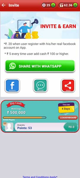 BigCash pro app refer and earn