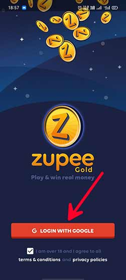 zupee gold app download