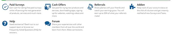how to earn money on ySense