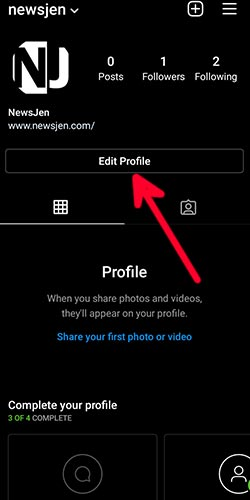 how to change instagram handle