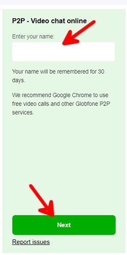 Globfone free video calling