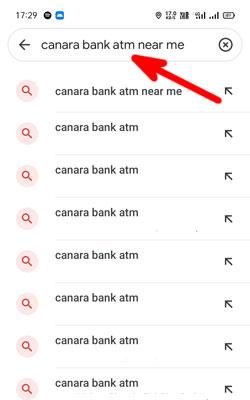 nearest canara bank atm