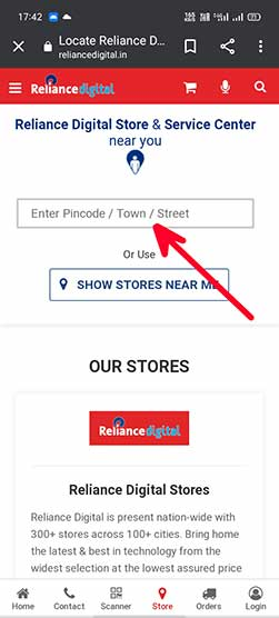 reliance digital shop near me